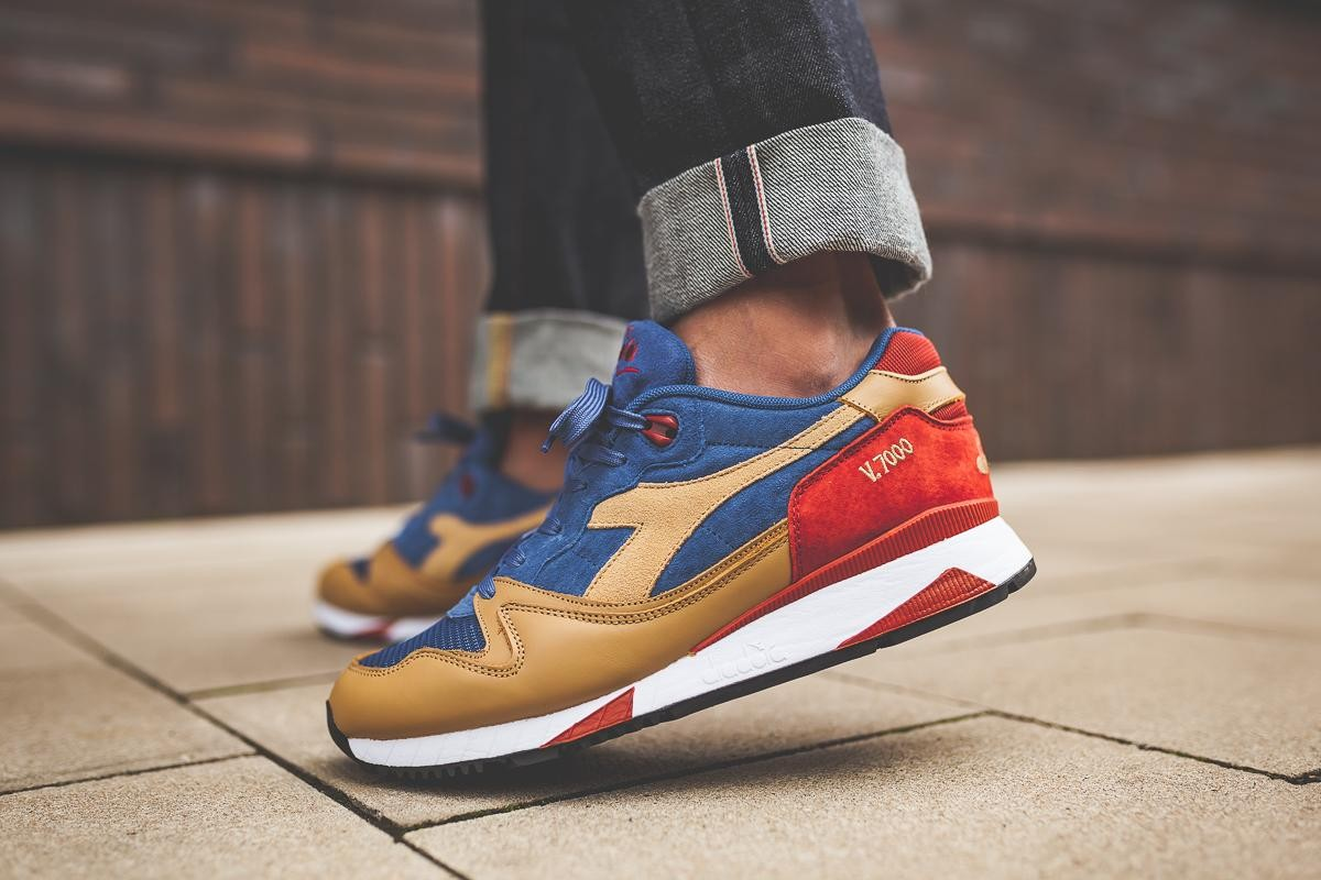 "Diadora V7000 Premium ""Dutchblue"""