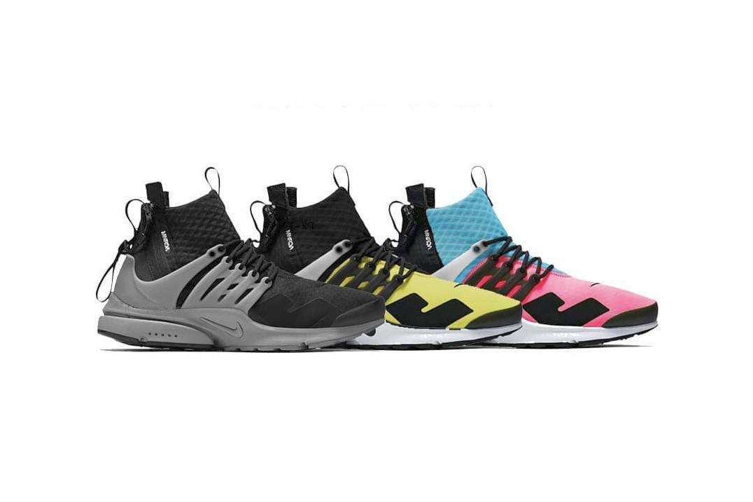 953b9421 Ранее в этом году в интернете появились изображения новой коллаборации Air  Presto Mid от Nike ...