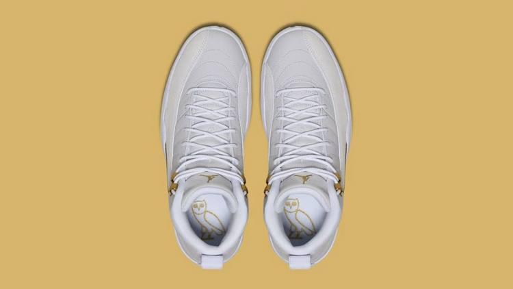 OVO x Air Jordan 12 Retro - White