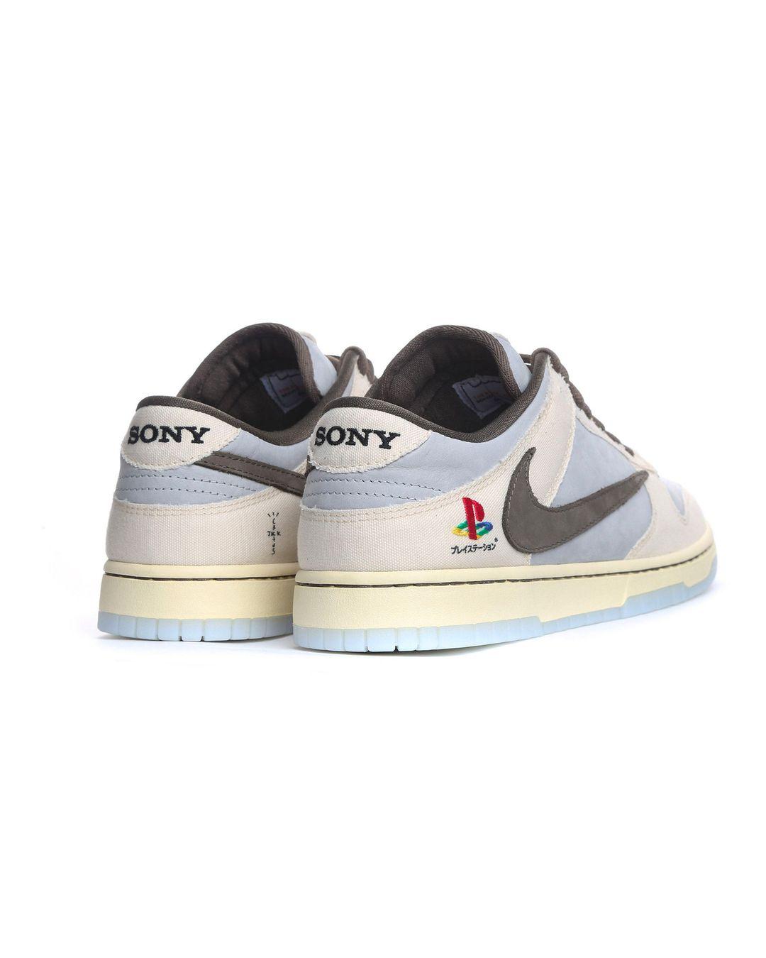 Кроссовки найк трэвис скотт: совместный выпуск с Sony PlayStation 5