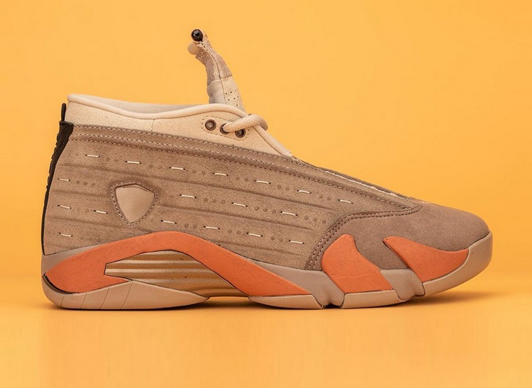 Nike Air Jordan 14 сотрудничество с CLOT