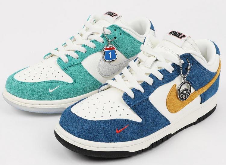 Самые дорогие кроссовки - Kasina x Nike Dunk Low Neptune Green