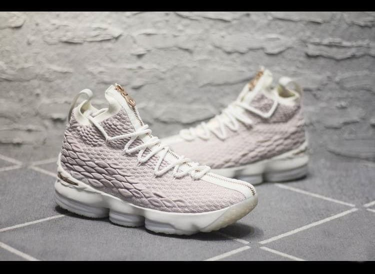Kith x Nike LeBron 15 Performance - Rose Gold
