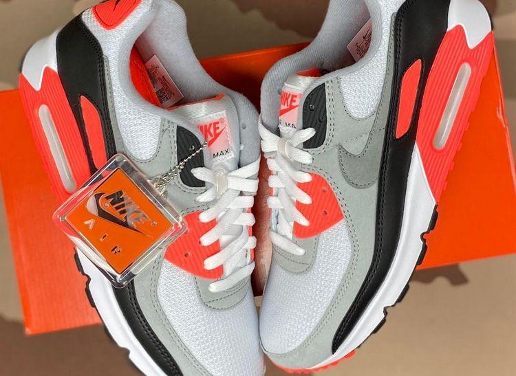 Nike Air Max 90 III Infrared - 30th Anniversary