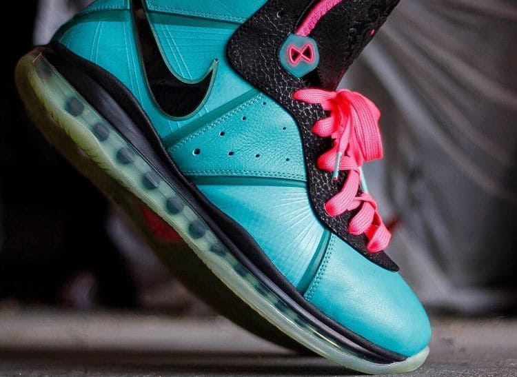 Кроссовки Nike LeBron 8 - South Beach