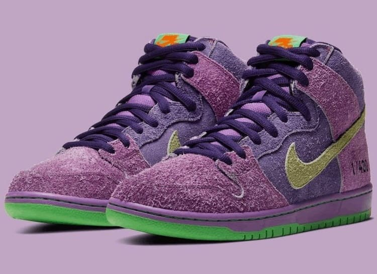 Nike SB Dunk High Reverse Skunk