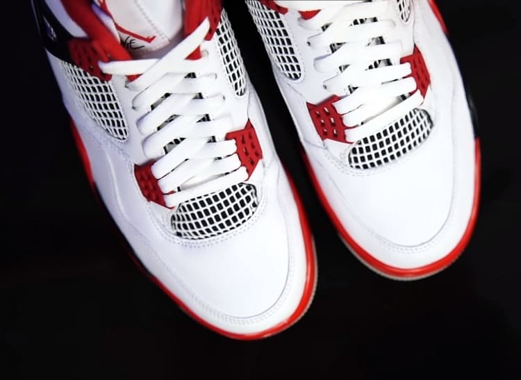 кроссовки jordan 4