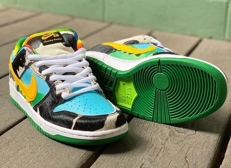 Кроссовки Ben & Jerry's x Nike SB Dunk Low