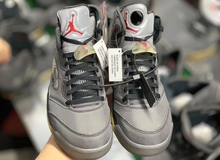 Коллаборация Off-White x Air Jordan V