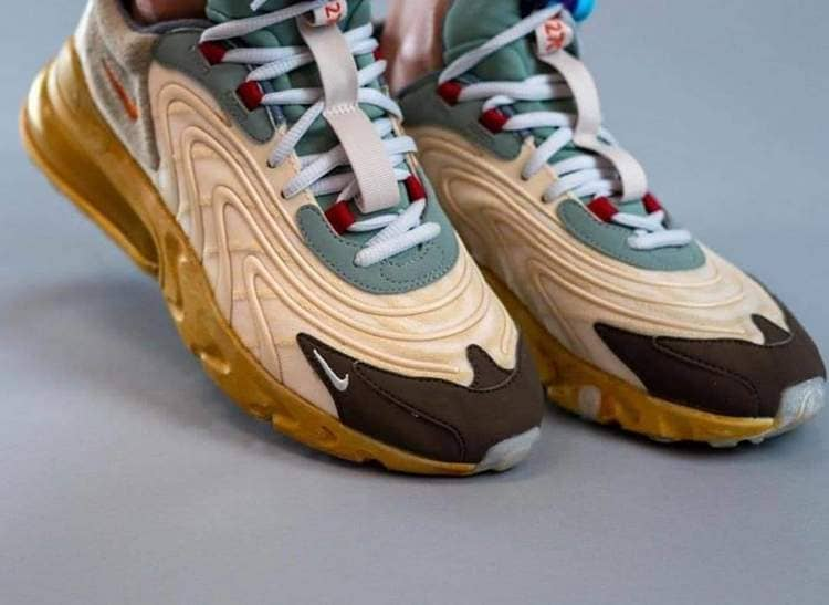 Коллаборация Travis Scott x Nike Air Max 270 React