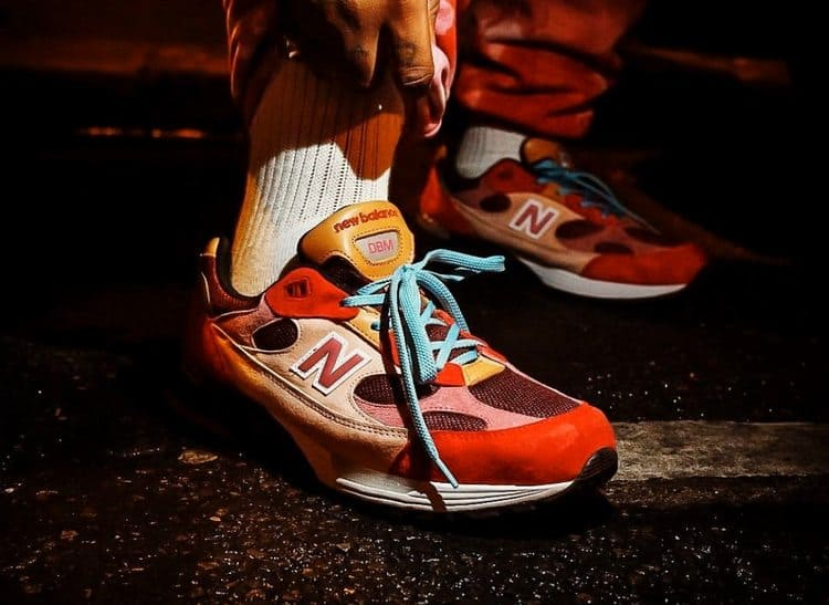 Кроссовки Joe Freshgoods x New Balance 992