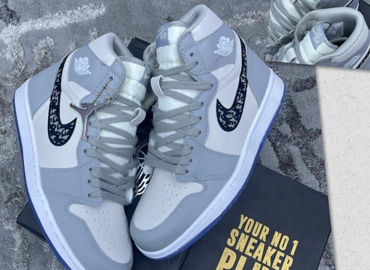 Лучшие кроссовки 2020 Dior Jordan 1