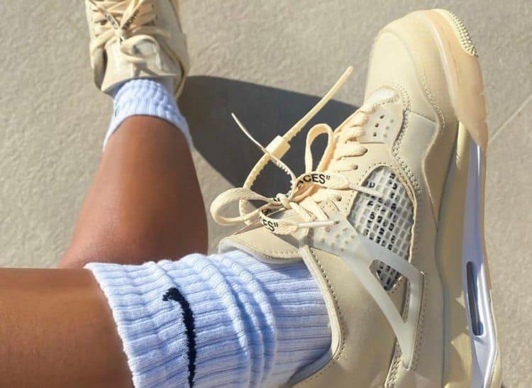 Лучшие кроссовки 2020 Off White Jordan 4
